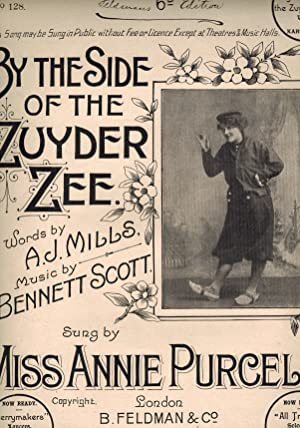 by the Side of the Zuyder Zee - Vintage Sheet Music - Miss Annie Purcell