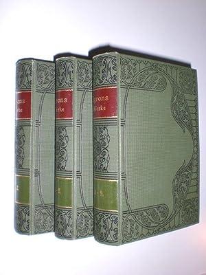 Byrons sämtliche Werke in neun Bänden. Übersetzt von Ud. Böttger. Herausgegeben und aus anderen ...