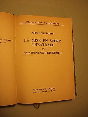 La Mise En Scene Theatrale et Sa: Veinstein (andre)
