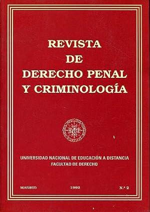 REVISTA DE DERECHO PENAL Y CRIMINOLOGIA Nº 2.