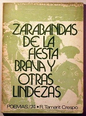 ZARABANDAS DE LA FIESTA BRAVA Y OTRAS: TAMARIT CRESPO, Rafael