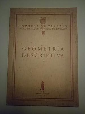 GEOMETRÍA DESCRIPTIVA - Barcelona 1956 - Ilustrado