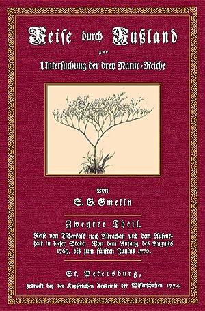 Reise durch Rußland - 2: Gmelin, Samuel Gottlieb