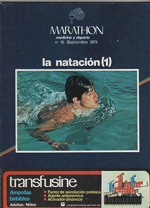 Imagen del vendedor de Marathon. Medicina y deporte. La natación (1). Nº 16. Septiembre 1974 a la venta por Librería El Cárabo