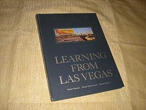 LEARNING FROM LAS VEGAS: Venturi, Robert, Denise