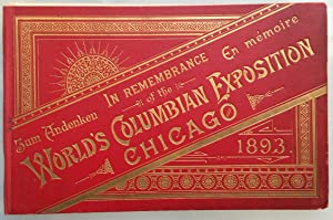 Zum Andeken, World's Columbian Exposition, Chicago, 1893