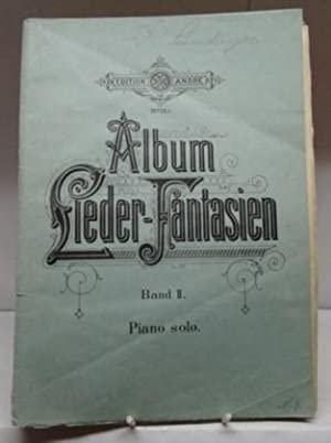 Lieder-Fantasien Album : Pianoforte : Band 2 Piano Solo;.