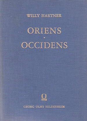 Oriens-Occidens.: Hartner, Willy: