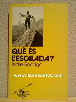 Imagen del vendedor de Què es la escalada? a la venta por Llibres Detot