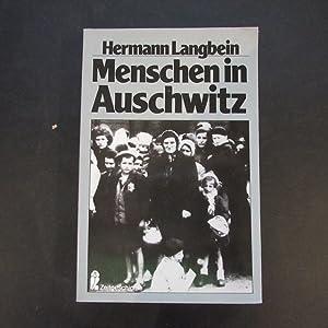 Menschen in Auschwitz: Langbein, Hermann: