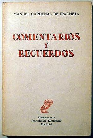 COMENTARIOS Y RECUERDOS - Revista de Occidente: CARDENAL DE IRACHETA,