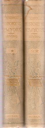 RNICKERBOCKERS S. HISTORY OF NEW YORK. I-II: IRVING, Washington