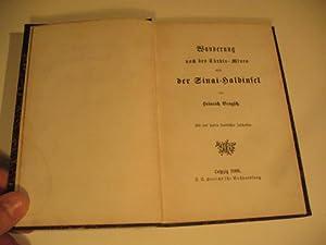 Wanderung nach den Türkis-Minen und der Sinai-Halbinsel.: Brugsch, Heinrich.