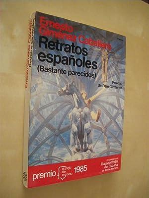 RETRATOS ESPAÑOLES. (BASTANTE PARECIDOS): ERNESTO GIMENEZ CABALLERO
