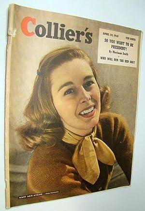 Collier's Magazine, April 24, 1948 - Mary: Lull, Roderick; Wilcox,