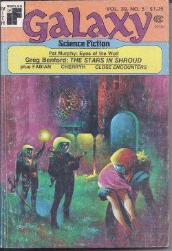 "GALAXY Science Fiction: May 1978 (""The Stars: Galaxy (Greg Benford;"