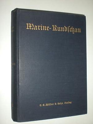 Marine-Rundschau. Monatsschrift für Seewesen. 45. Jahrgang 1940. 12 Hefte komplett.: MARINE ...