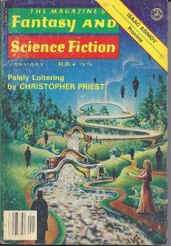 The Magazine of FANTASY AND SCIENCE FICTION: F&SF (Christopher Priest;