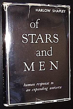 Of Stars and Men *****SIGNED BY HARLOW: Shapley, Harlow