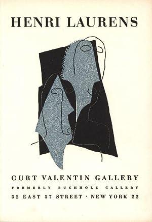 Henri Laurens. Curt Valentin Gallery, formerly Buchholz: Cassou, Jean,