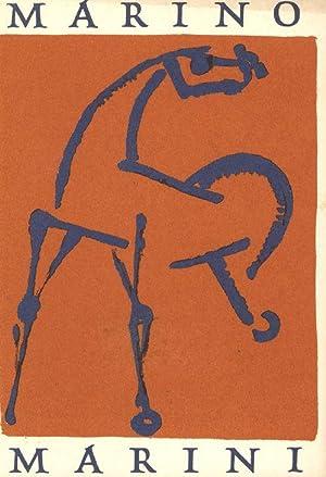 MARINO MARINI. Exhibition Curt Valentin Gallery, 32: Sinagra (Text),