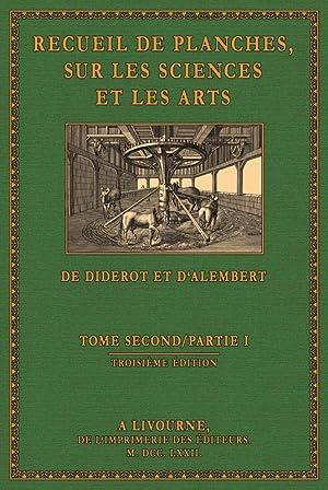 Encyclopà die - Planches 2.1: Diderot, Denis / d'Alembert, Jean Baptiste le Rond