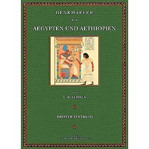 Denkmäler aus Aegypten und Aethiopien - Text 3: Naville, Edouard