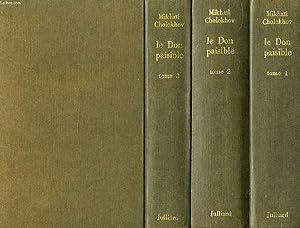 LE DON PAISIBLE, 3 TOMES: CHOLOKHOV MIKHAIL