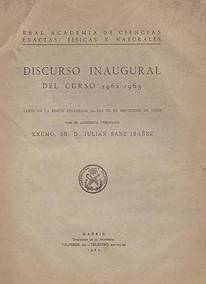 LA NUEVA CITOLOGIA (discurso inaugural curso 1962-1963: Julian Sanz Ibañez