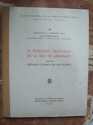 EL POBLADO CRISTIANO DE LA ISLA DE: Presedo Velo, Francisco