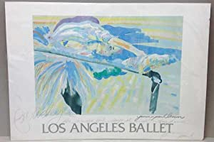 Signed, Los Angeles Ballet, Poster: James Paul Brown