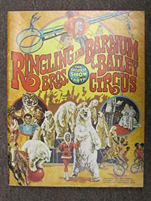 106th Edition Souvenir Program and Magazine 1976: Ringling Bros and