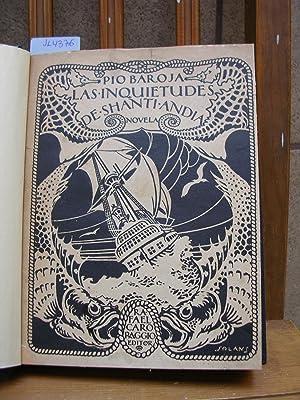 El mar. LAS INQUIETUDES DE SHANTI ANDIA. Ilustraciones de Ramón Zubiaurre y Ricardo Baroja: BAROJA,...