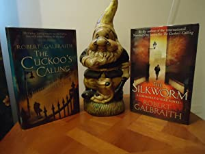 THE CUCKOO'S CALLING AND THE SILKWORM+++SIGNED+++HOTTEST BOOKS: ROBERT GALBRAITH (SIGNED)