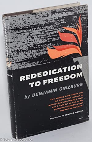Rededication to freedom: Ginzburg, Benjamin