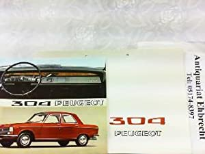 Peugeot 304.: Peugeot, Werbe-Prospekt: