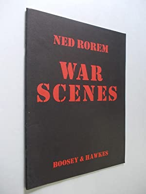 War Scenes. For medium-low voice and piano.: Rorem, Ned and