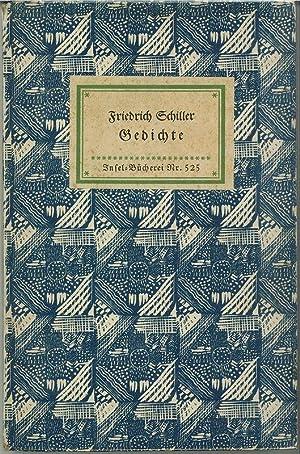Gedichte.: SCHILLER, Friedrich.