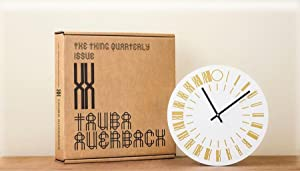 Clock: The Thing Quarterly: Issue 20 (SIGNED by Tauba Auerbach: Limited Ed.)