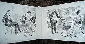 A Widow and her Friends.: Gibson, Charles Dana