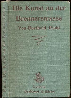 Bild des Verkäufers für Die Kunst an der Brennerstraße. zum Verkauf von Antiquariat Düwal