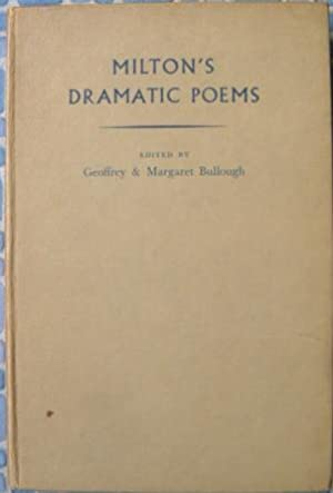 Seller image for Milton's Dramatic Poems for sale by Beach Hut Books