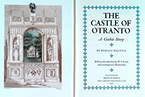 THE CASTLE OF OTRANTO. A GOTHIC STORY