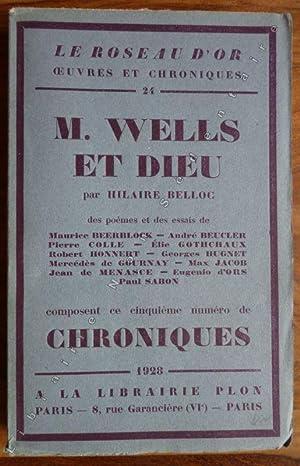 M. Wells Et Dieu - Poèmes et: Belloc Hillaire -