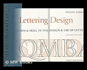 Lettering Design : Form & Skill in: Harvey, Michael (1931-)