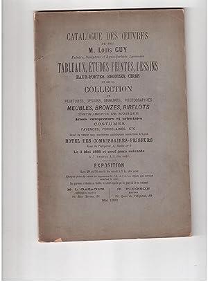 Catalogue des oeuvres de Louis Guy et: Felix Desvernay