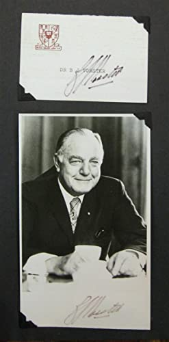 Signed Presidential Card
