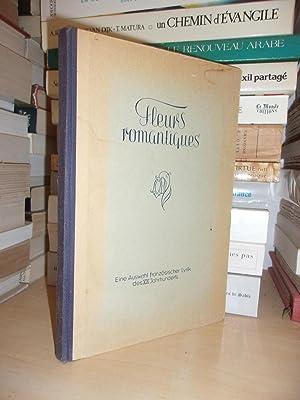 FLEURS ROMANTIQUES DE POETES LYRIQUES FRANCAIS DU: Collectif : (Hugo