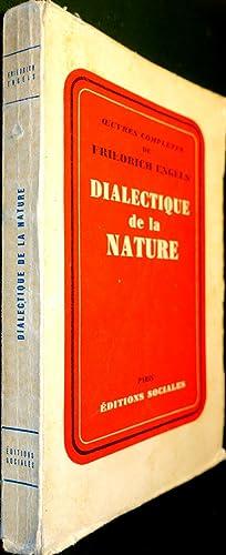 Dialectique de la nature: ENGELS, Friedrich