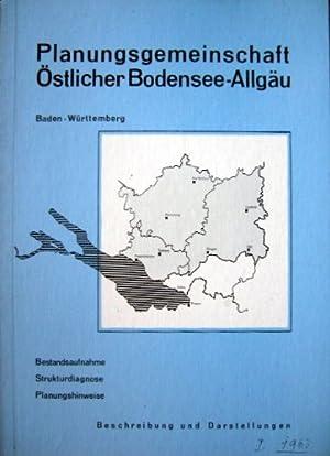 Planungsgemeinschaft östlicher Bodensee-Allgäu - Beschreibung und Darstellung (Bestandsaufnahme, ...